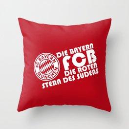 Slogan: Bayern Munchen Throw Pillow