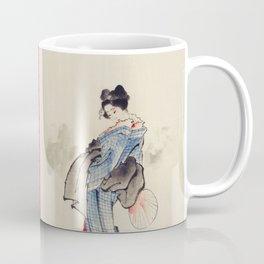 Geisha by Katsushita Hokusai Coffee Mug