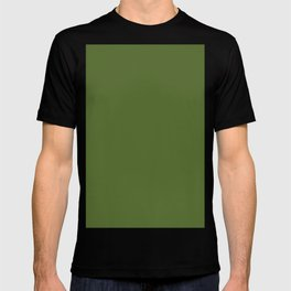 Dark olive green T-shirt