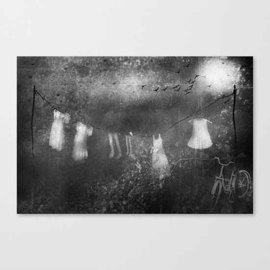 A view from the window Canvas Print