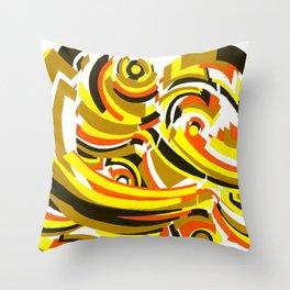 Seigaiha Series - Camaraderie Throw Pillow