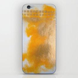 Gold Untitled 2 iPhone Skin
