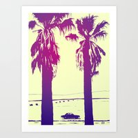 palms Art Prints featuring Palms by Giuseppe Cristiano