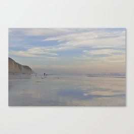 Photography - Misty Reflection at Torrey Beach Canvas Print