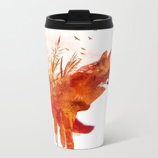 Plattensee Fox Metal Travel Mug
