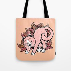 Cat Purring Tote Bag