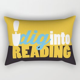Dig Into Reading - Just Read Rectangular Pillow