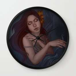 the fire within Wall Clock