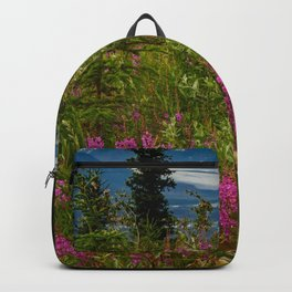 Alaskan Glacier & Fireweed Backpack