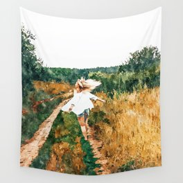 Free Spirit || #painting #nature Wall Tapestry