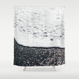 Ocean shore Shower Curtain