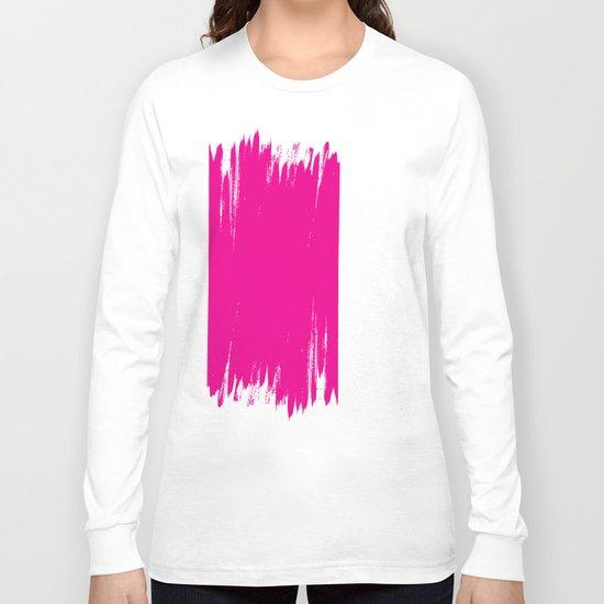 HIGH CONTRAST MAGENTA Long Sleeve T-shirt