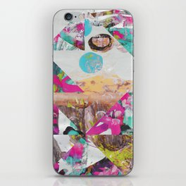 Colors And Shapes Symbolize The Soul's Journey iPhone Skin