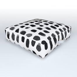 Watercolor Dots Outdoor Floor Cushion