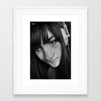 gamer Framed Art Prints featuring Gamer by Anais.Lalovi