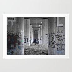 Ghetto Wheels Art Print