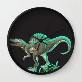 Spinosaurus Dinosaur Wall Clock