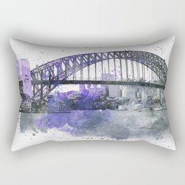 Sydney Harbor Bridge II Rectangular Pillow