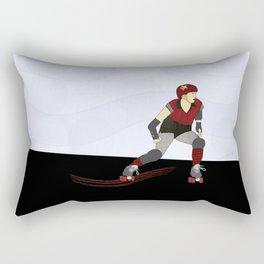 Roller Derby Rectangular Pillow