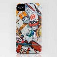 Paint Splash! Slim Case iPhone (4, 4s)