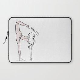 Yoga Girl Laptop Sleeve