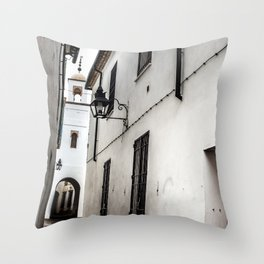 Cordoba Street, Spain Throw Pillow