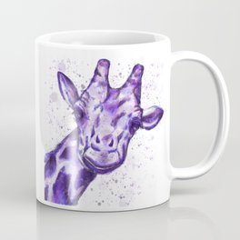 The Purple Giraffe  Coffee Mug