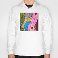 misfits Hoodies featuring LIZARD LADY and HER MERRY BAND of MISFITS by LEMONSQUARE