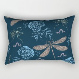 Insects Pattern #1 Rectangular Pillow