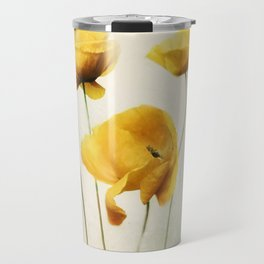 Yellow Poppies Travel Mug