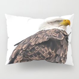 January Bald Eagle Pillow Sham
