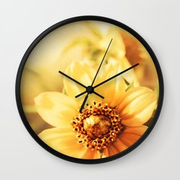 Marsh Marigolds Wall Clock