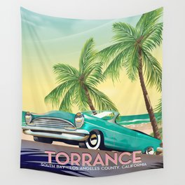 Torrance, California Wall Tapestry
