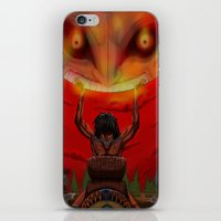 majora iPhone & iPod Skins featuring attack on majora! by fangterry