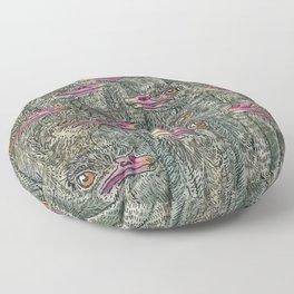 Ostriches Floor Pillow