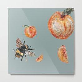 Peaches & Honey Metal Print