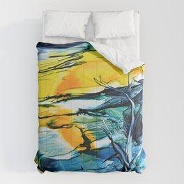 WinterFullMoon Comforters