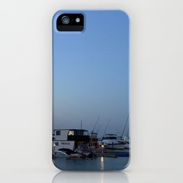 Boats at Nelsons Bay, NSW, Australia iPhone Case