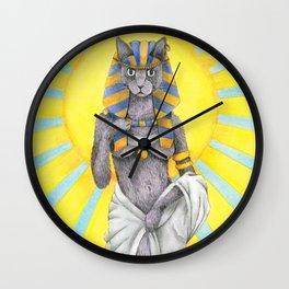Lady Bast Wall Clock