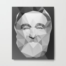 Robin McLaurin Williams (July 21, 1951 – August 11, 2014) Metal Print