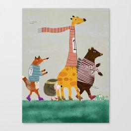 the fun run Canvas Print