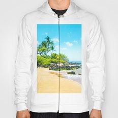 Mokapu Beach Pacific Ocean Tropical Beauty Maui Hawaii Hoody