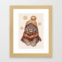Beanie Weather Framed Art Print