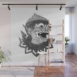 Hanuman Wall Mural