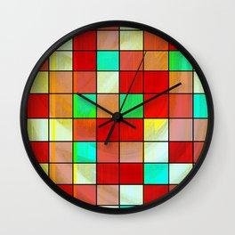 checkered II Wall Clock
