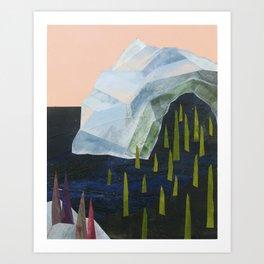 Ice Melt Art Print