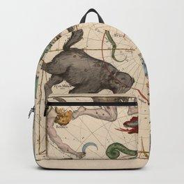 Ignace-Gaston Pardies - Globi coelestis Plate 1: Ursa Major, Ursa Minor, Perseus, and others Backpack