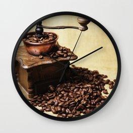coffee grinder Wall Clock