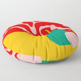 apple and pear Floor Pillow