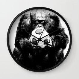 Soccer Chimp Wall Clock